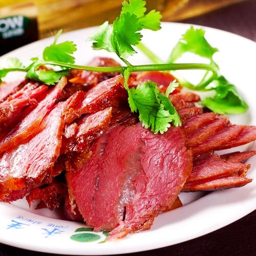 创意腊牛肉的做法