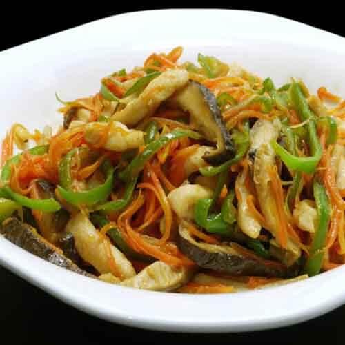 美味的鱼香鸡丝做法