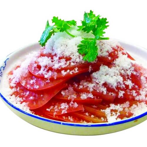 #美食派#糖拌西红柿