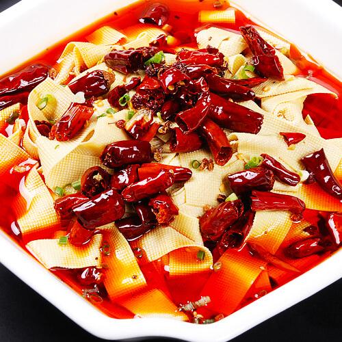 好吃的水煮干豆腐的做法