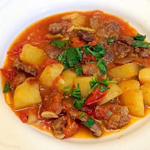 番茄土豆牛肉的做法