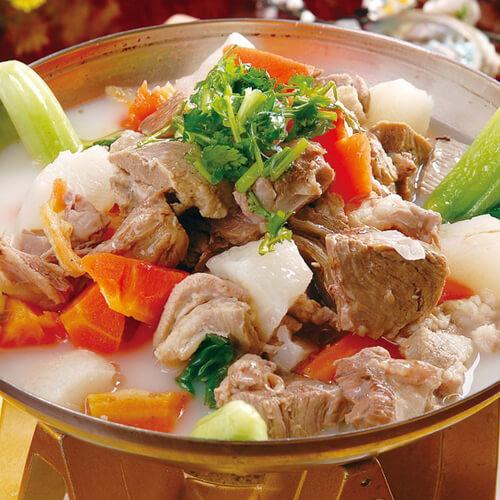 美味药膳羊肉汤的做法