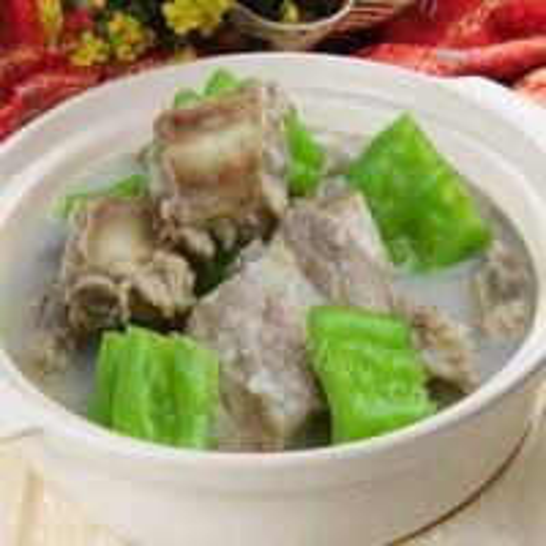 美味苦瓜羊肉汤的做法