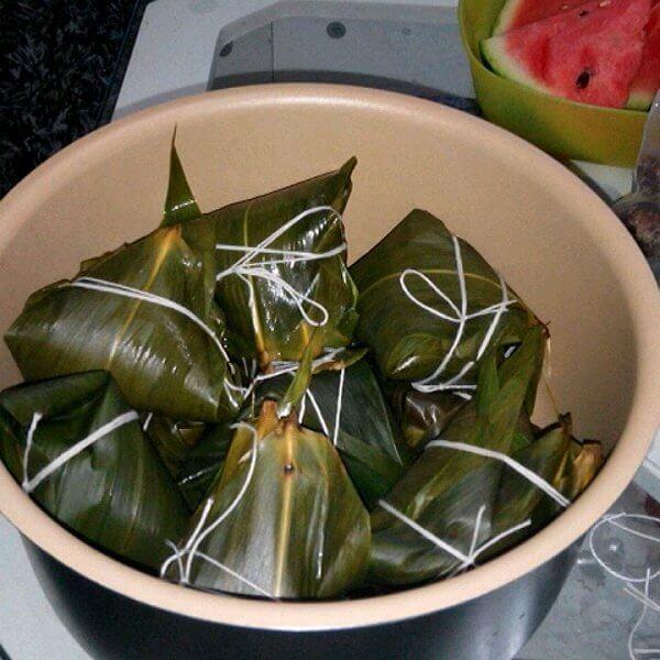 清新美味的日本粽子