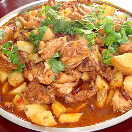 新疆大盘鸡的正宗做法
