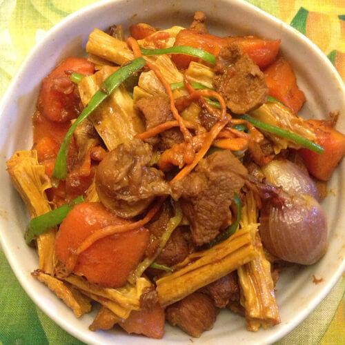 腐竹白果莲子薏米糖水