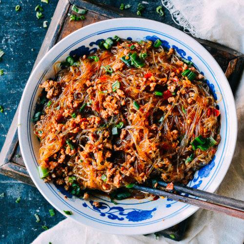 酸豇豆炒饭
