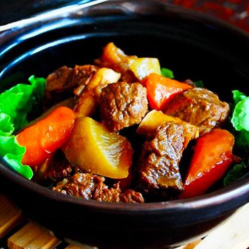 牛肉炖青萝卜的做法