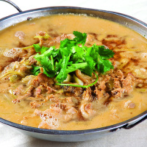 酸菜汆羊肉的做法