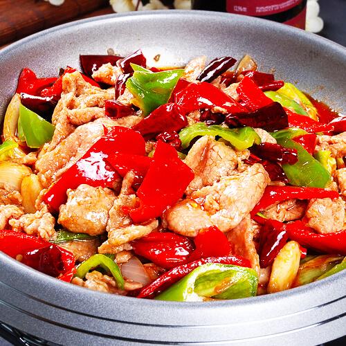 干锅牛肉的做法麻辣