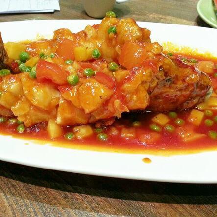 马来式酸甜鱼