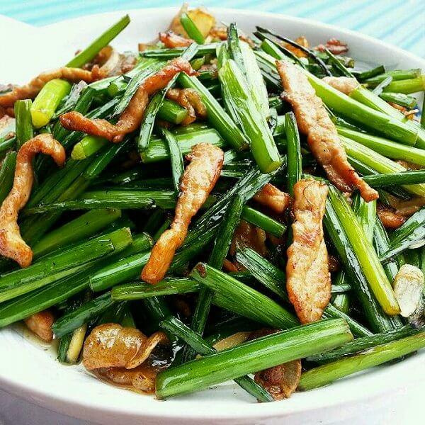 迷人味道的鲜嫩红菜苔