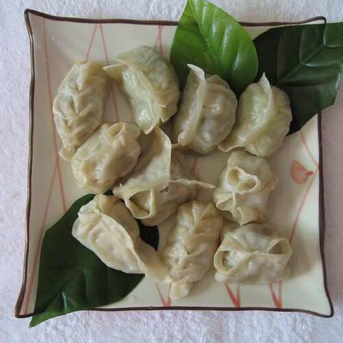 咸鲜的猪肉豇豆饺子