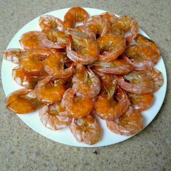 美味微波炉做虾