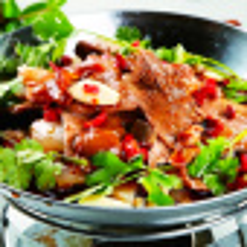 美味的干锅牛肉的做法麻辣