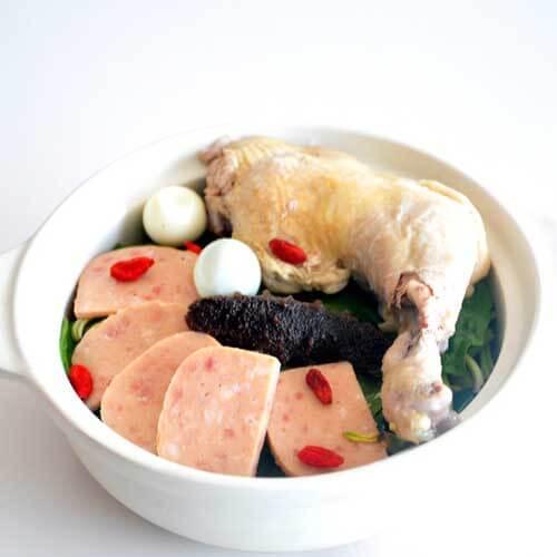 鸡腿海带汤
