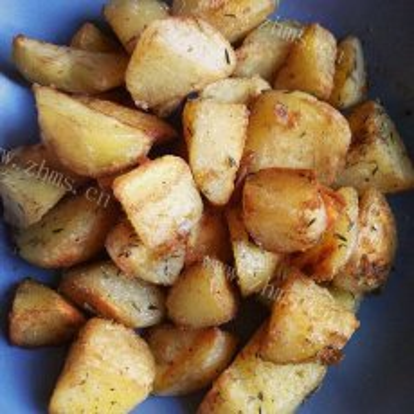 好吃的炸土豆小吃