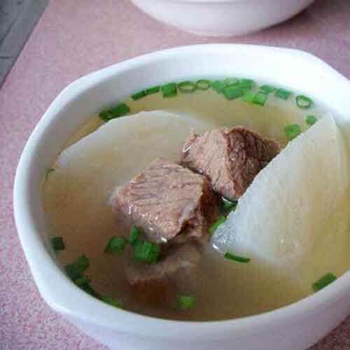 清炖萝卜牛肉