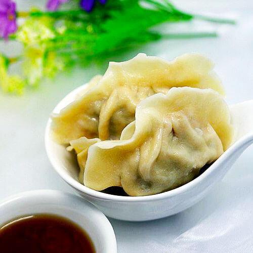 自制茴香苗饺子