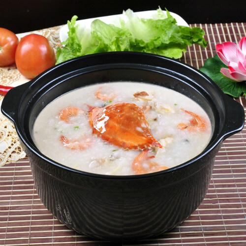 鲜美的蟹粥