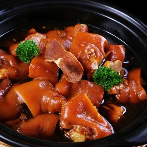 营养的猪蹄煲的做法