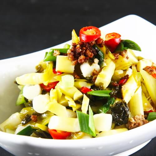 美味的酸菜笋