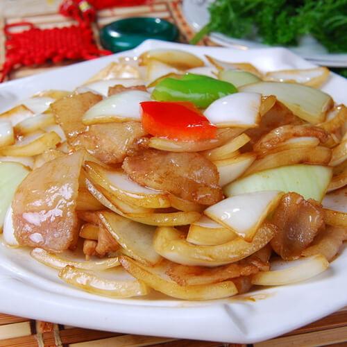 猪肉炒洋葱的做法