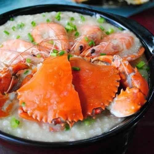 美味海鲜砂锅粥做法