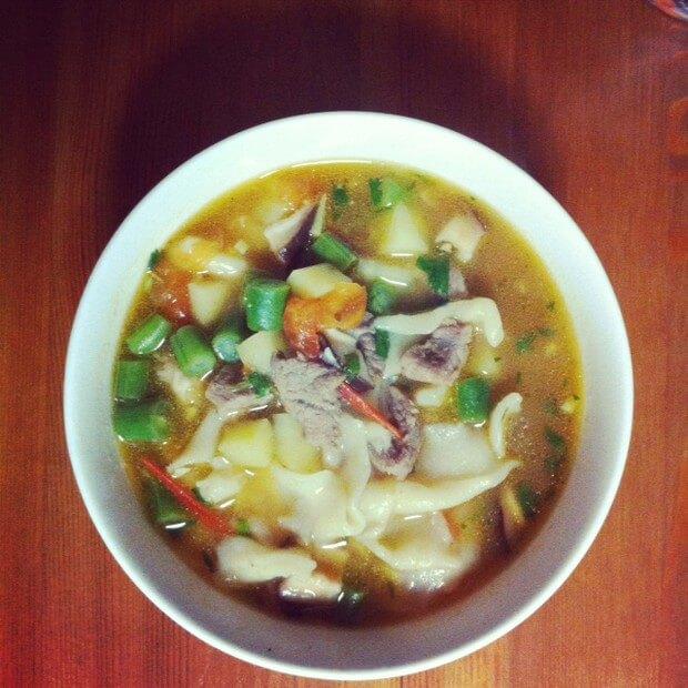 香菇羊肉汤的做法