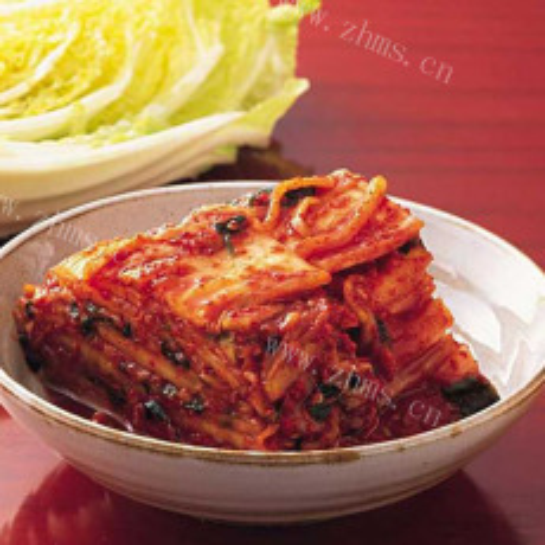 爽口的韩国泡菜的做法