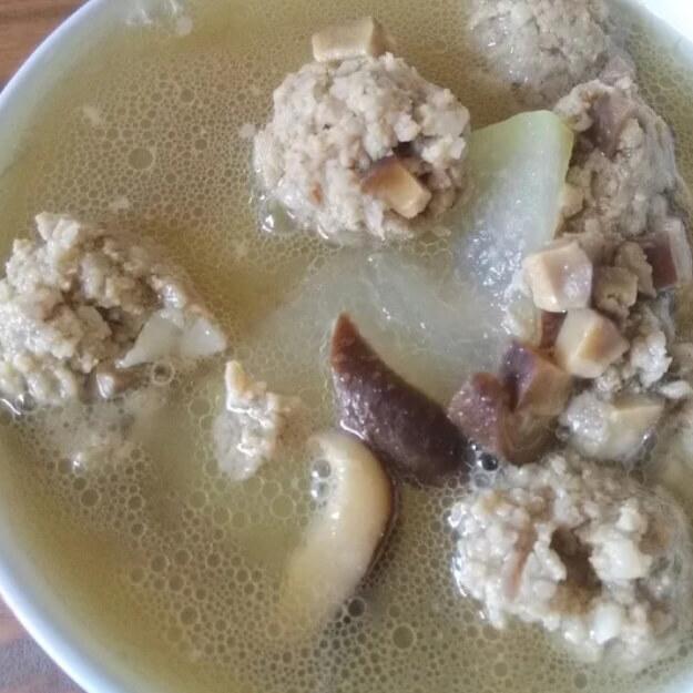 鲜美无比的冬瓜牛肉丸子汤