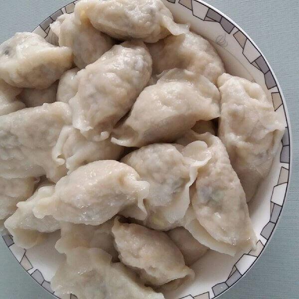 家常圆白菜饺子