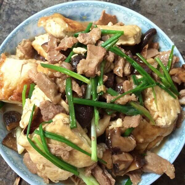 好吃的瘦肉焖豆腐