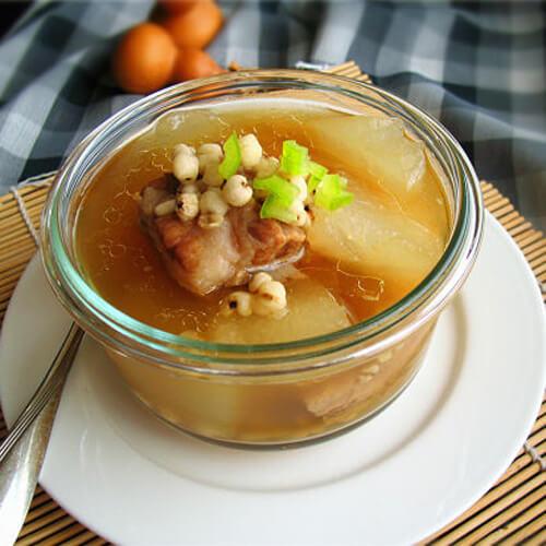 保健的木棉花煲汤
