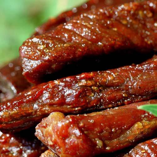 美味的牛肉干制作