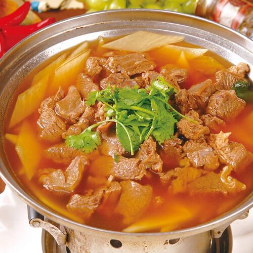 美味牛肉炖萝卜的做法