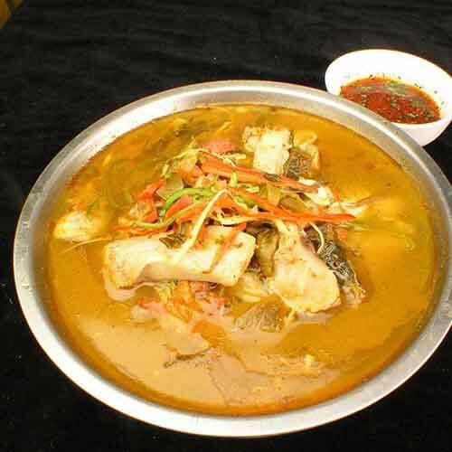 浓味的酸笋鱼