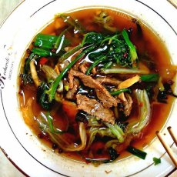 美味的水煮牛肉简单做法