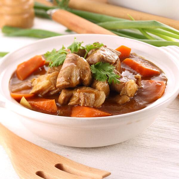 咖喱土豆猪肉的做法