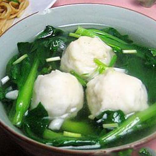 特色的鱼丸汤的做法