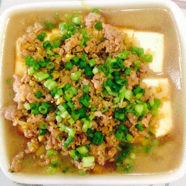 肉末蒸豆腐(懒人版)