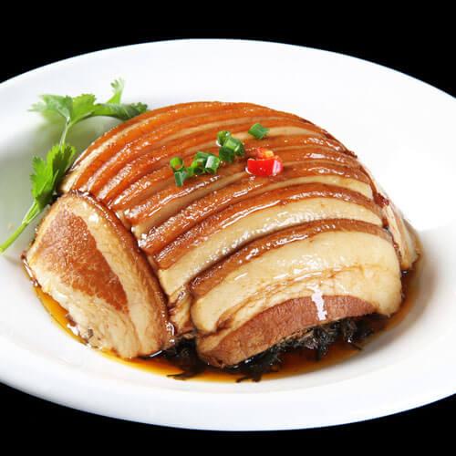 好看又好吃的王栏树梅菜扣肉