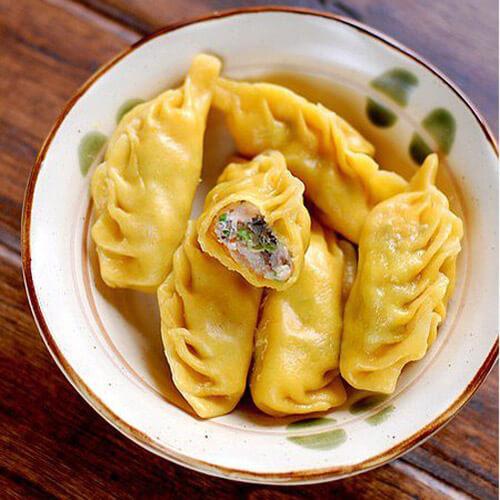 特色猪肉豇豆饺子