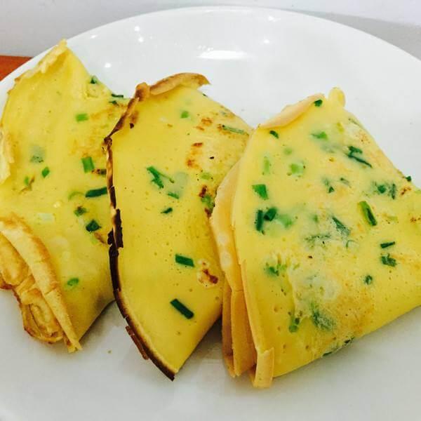 香葱鸡蛋饼