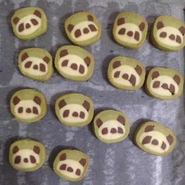 极致的熊猫饼干