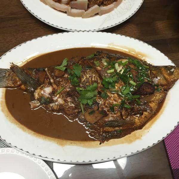 香飘的红烧鳊鱼