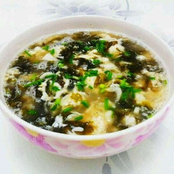 自制紫菜蛋汤