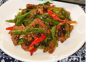 辣味十足的湖南小炒肉