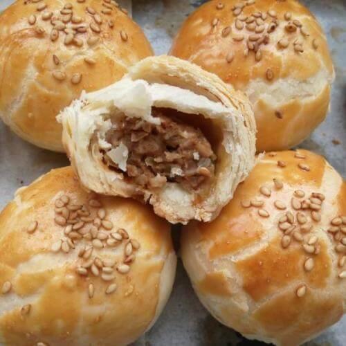自制苏式鲜肉月饼