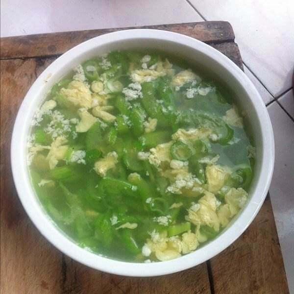香飘十里的丝瓜鸡蛋汤